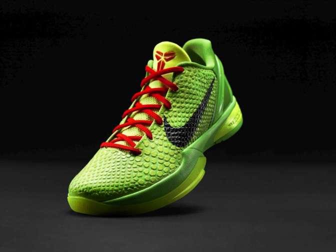 "Nike Zoom Kobe VI Christmas ""Grinch"""