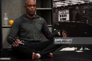 After a tumultuous week outside the cage, it was the cerebral Anderson Silva who stepped forward to help the show continue.