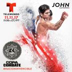 Exclusive Interview with John Castaneda – Copa Combate
