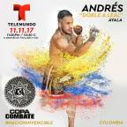 Andrés Ayala Excited to Represent Colombia – Copa Combate